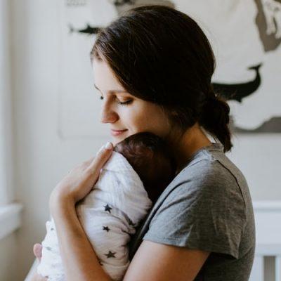 mama ir vaikas